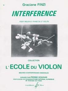 FINZI G. INTERFERENCE VIOLON