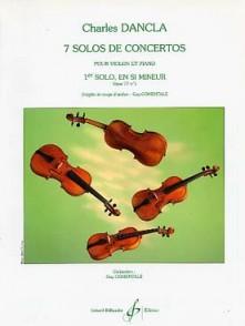 DANCLA C. 1ER SOLO DE CONCERTO OP 77 N°1 VIOLON