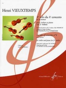 VIEUXTEMPS H. 4ME CONCERTO 1ER SOLO VIOLON
