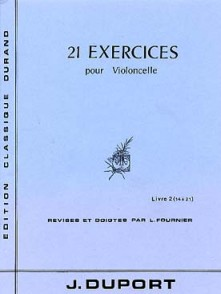 DUPORT J.L. 21 EXERCICES VOL 2 VIOLONCELLE