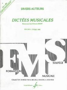 JOLLET J.C. DICTEES MUSICALES VOL 4 ELEVE