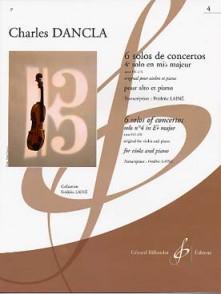 DANCLA C. SOLOS DE CONCERTO: OP 141 N°6 EN MIB MAJEUR ALTO