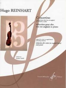 REINHART H. CONCERTINO ALTO OU COR ANGLAIS