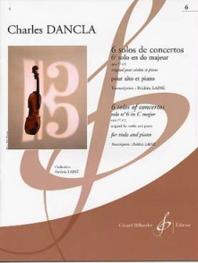 DANCLA C. SOLOS DE CONCERTO: OP 77 N°2 EN UT MAJEUR ALTO