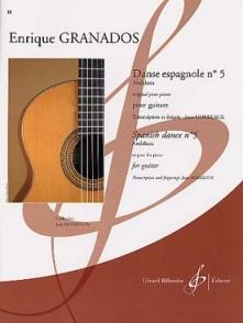 GRANADOS E. DANSE ESPAGNOLE N°5 GUITARE