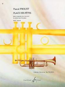 PROUST P. PLACE DES FETES TROMPETTE