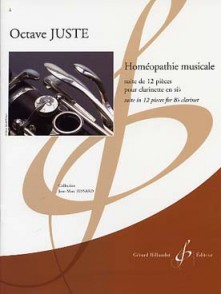 JUSTE O. HOMEOPATHIE MUSICALE CLARINETTE