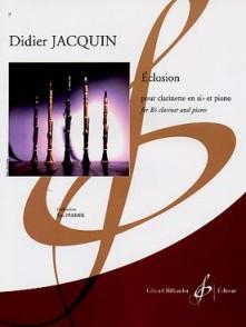 JACQUIN D. ECLOSION CLARINETTE