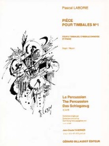 LABORIE P. PIECE N°1 TIMBALES