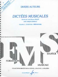 JOLLET J.C. DICTEES MUSICALES VOL 2 ELEVE