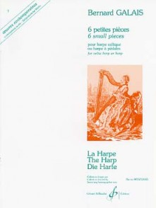 GALAIS B. PETITES PIECES HARPE CELTIQUE