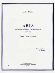 BACH J.S. ARIA EN RE VIOLON