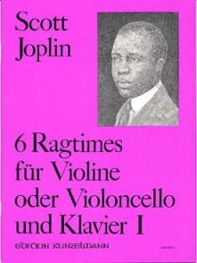 JOPLIN S. 6 RAGTIMES VOL 1 VIOLON/VIOLONCELLE