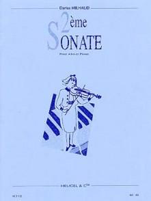 MILHAUD D. 2ME SONATE ALTO
