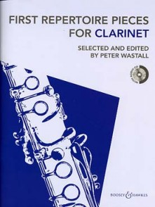 WASTALL P. FIRST REPERTOIRE CLARINETTE