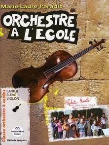 PARADIS M.L. ORCHESTRE A L'ECOLE VIOLON