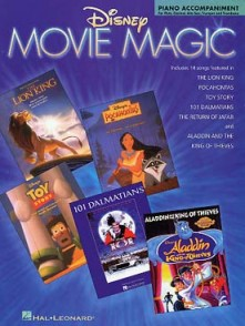 DISNEY MOVIE MAGIC FOR PIANO ACCOMPAGNEMENT VENTS