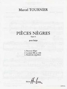 TOURNIER M. PIECES NEGRES HARPE