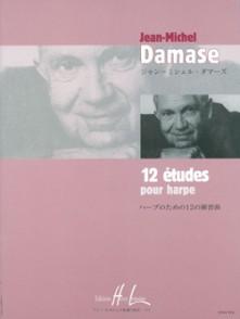 DAMASE J.M. ETUDES HARPE