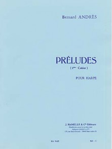 ANDRES B. PRELUDES 3ME CAHIER HARPE
