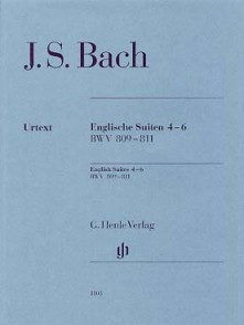 BACH J.S. SUITES ANGLAISES VOL 2 PIANO