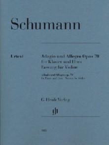 SCHUMANN R. ADAGIO UND ALLEGRO VIOLON