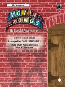 MOVIE SONGS BY SPECIAL ARRANGEMENT SAXO ALTO