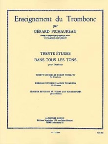 PICHAUREAU G. 30 ETUDES DANS TOUS LES TONS TROMBONE