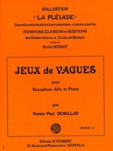 DEMILLAC F.P. JEU DE VAGUES SAXO