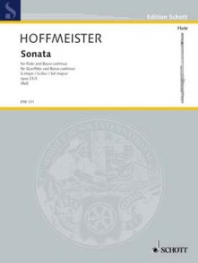 HOFFMEISTER F.A. SONATE SOL MAJEUR FLUTE