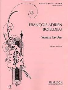 BOIELDIEU F.A. SONATE MIB MAJEUR CLARINETTE