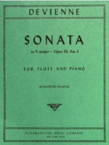 DEVIENNE F. SONATE A MAJOR OP 68/4 FLUTE