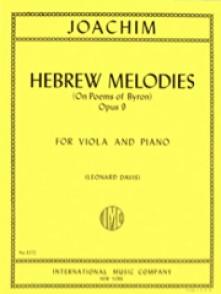 JOACHIM J. HEBREW MELODIES OP 9 ALTO