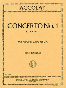 ACCOLAY J.B. CONCERTINO N°1 VIOLON