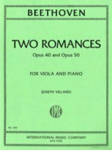 BEETHOVEN L. ROMANCES OP 40/50 ALTO