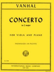VANHAL J.B. CONCERTO DO MAJEUR ALTO