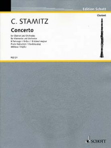 STAMITZ K. CONCERTO SIB CLARINETTE