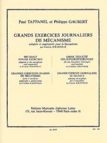 TAFFANEL P./GAUBERT P. GRANDS EXERCICES JOURNALIERS SAXO