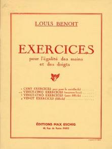 BENOIT L. EXERCICES VOL 2  PIANO