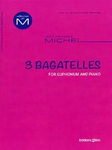 MICHEL J.M. BAGATELLES SAXHORN BASSE