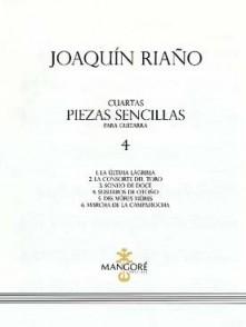 RIANO J. CUARTAS PIEZAS SENCILLAS VOL 3 GUITARE