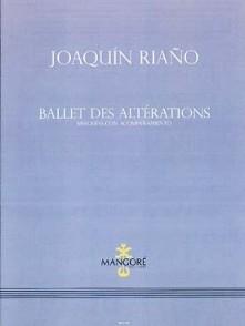 RIANO J. BALLET DES ALTERATIONS GUITARES