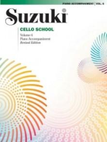 SUZUKI CELLO SCHOOL VOL 6 ACCOMPAGNEMENT PIANO