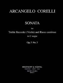CORELLI A. SONATA OP 5/3 FLUTE ALTO