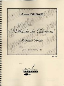 DUBAR A. METHODE DE CLAVECIN 2ME ANNEE VOL 2