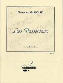 GIROUD G. LES PASSEREAUX VIOLON