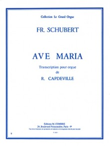 SCHUBERT F. AVE MARIA ORGUE