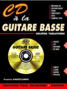 DARIZCUREN F. CD A LA GUITARE BASSE