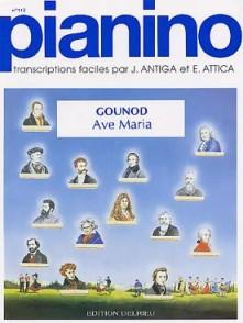 GOUNOD C. AVE MARIA PIANO