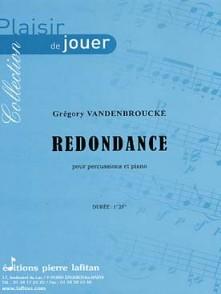 VANDENBROUCKE G. REDONDANCE PERCUSSION